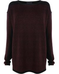 Bastyan - Amelie Abstract Printed Jumper - Lyst