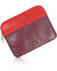 DKNY - Colour Block Leather Ipad174 Case - Lyst