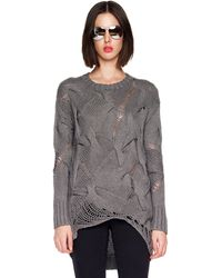 Michael Kors Cabletwist Sweater - Lyst
