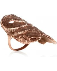 Dominique Lucas Owl Ring - Pink