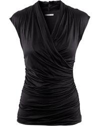 H&M Top black - Lyst