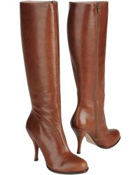 Pura Lopez Highheeled Boots - Lyst