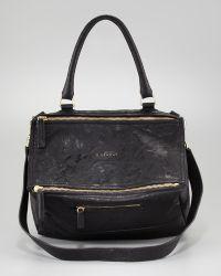 Givenchy Pandora Medium Leather Satchel Bag - Lyst