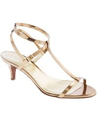 J.Crew Greta Metallic Sandals - Lyst