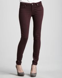 Paige Skinny Jeans - Lyst
