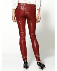 Rich & Skinny Legacy Patent Leather Pant - Lyst