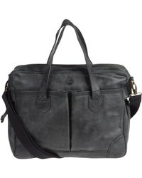 Timberland - Large Leather Bag - Lyst