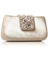 Miss Kg Opal Clutch - Metallic