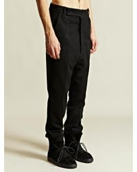 Rick Owens Mens Astaires Trousers - Lyst