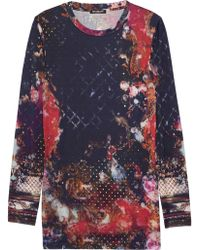 Balmain Multicolor Long Top - Lyst
