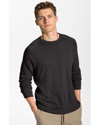 James Perse Crewneck Sweatshirt - Lyst
