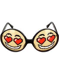 Jeremy Scott Emoticon Sunglasses - Lyst