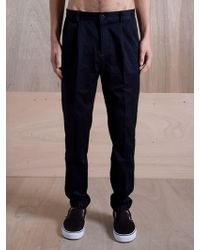 Pam - Pam Mens Ohno Navy Chino Trousers - Lyst