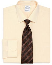 Brooks Brothers Supima Cotton Noniron Slim Fit Micro Tattersall Dress Shirt - Lyst