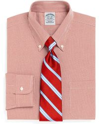 Brooks Brothers Red Fleece - Checked Sport Shirt - Lyst