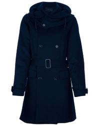 Kai-aakmann - Hooded Trench - Lyst