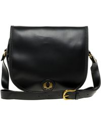 Fred Perry Authentic Cartridge Bag - Black