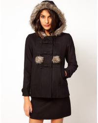 Sugarhill - Fur Pom Pom Jacket - Lyst