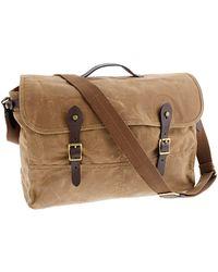 J.Crew Abingdon Messenger Bag khaki - Lyst