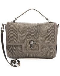 Juicy Couture - Jocelyn Snake Print Satchel - Lyst
