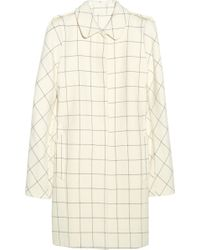 See By Chloé Checked Coat - Lyst