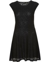 Topshop Paisley Lace Tunic - Lyst