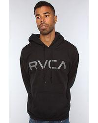 RVCA The Big Rvca Hoody in Black - Lyst