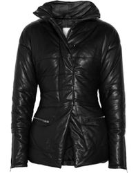 Hakaan Lynda Quilted Leather Coat - Lyst