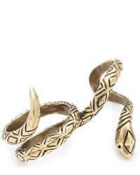 House of Harlow 1960 - Wrap Snake Ring - Lyst