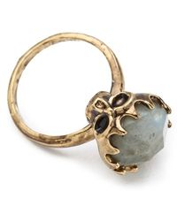 House of Harlow 1960 - Stone Top Skull Ring - Lyst