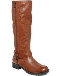 Kenneth Cole Reaction Skinny Love Boots - Brown