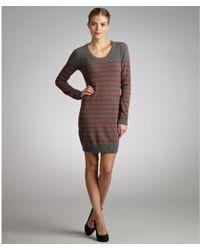 Rag & Bone  Stripe Woolcashmere Putney Sweater Dress - Lyst