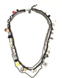 Venessa Arizaga Charmed Memories Necklace - Metallic