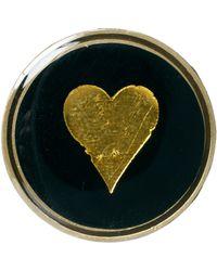 Cath Kidston - Heart Circular Badge - Lyst