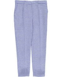 Lucas Nascimento Womens Beehive Cylindro Pants - Blue