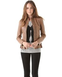 Alice By Temperley - Page Leather Jacket - Lyst