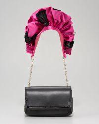 Christian Louboutin Artemis Embellished Shoulder Bag - Lyst