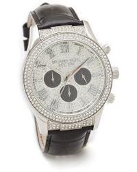 Michael Kors Layton Glitz Watch - Lyst