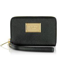 Michael Kors Michael Multi Function Iphone Case Zip Wallet - Lyst