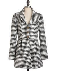 ModCloth Suite As Can Be Coat - Lyst