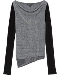 Elizabeth And James Loose Fit Sweater black - Lyst