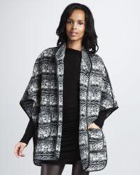 Graham & Spencer - Knit Blanket Jacket - Lyst