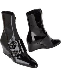 Helmut Lang Ankle Boots - Lyst