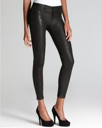 J Brand L8001 Noir Leather Super Skinny Pants - Lyst