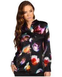 Paul Smith Floral Print Dress Shirt - Lyst