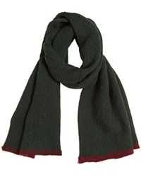 Iceberg - Wool Camel Hair Two Tone Knitted Scarf - Lyst