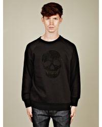 Alexander McQueen  Bonded Skull Sweatshirt - Lyst