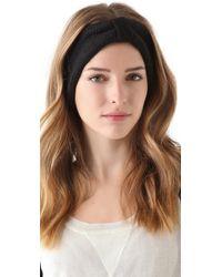 Cheap Monday Hairy Headband - Black