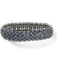 Club Monaco Jenna Stretch Bracelet - Blue