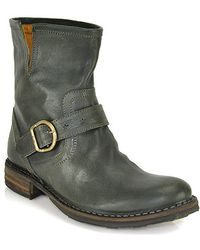 Fiorentini + Baker Leather Bootie - Lyst